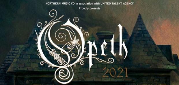 Opeth 2021 banner