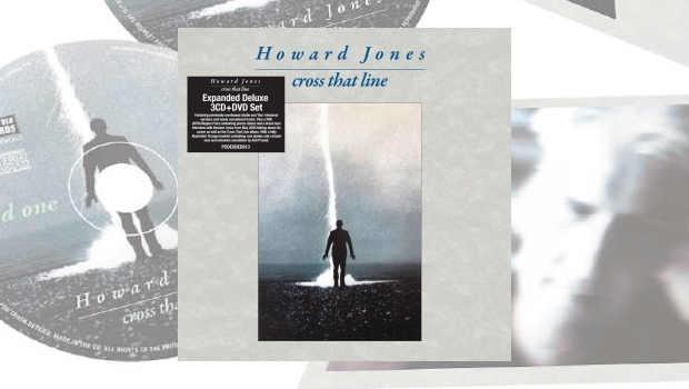 Howard Jones - Cross That Line [Expanded Deluxe 3CD & DVD Set