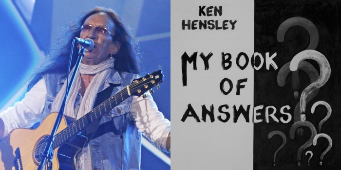 Ken Hensley - My Book Of Answers album cover - TPA Collage
