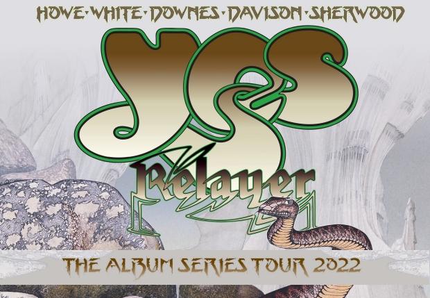 Yes - The Album Series Tour 2022 poster