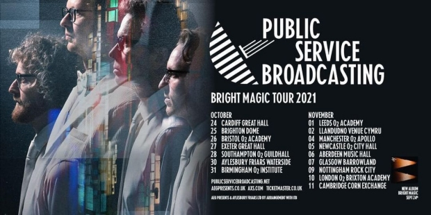 Public Service Broadcasting UK Tour Poster 2021