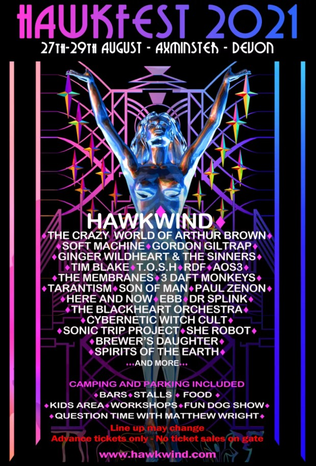 Hawkfest 2021 poster