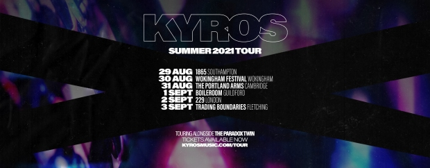 Kyros and The Paradox Twin tour poster