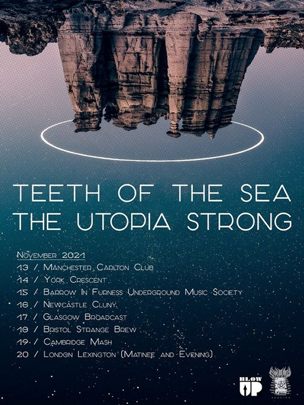 The Utopia Strong and Teeth Of The Sea Tour poster