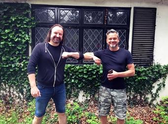 Karl Groom & Damian Wilson