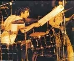 Keith Moon at The Oval 1971