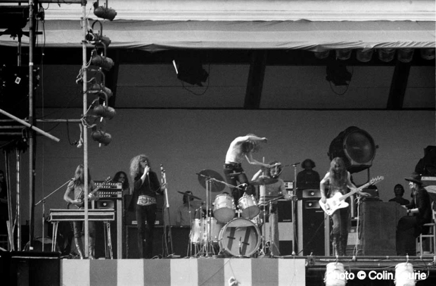Mott The Hoople at The Oval 1971