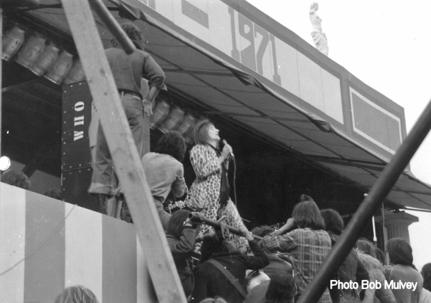 Rod Stewart at The Oval 1971